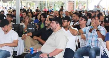 La convivencia organizada por Uber reunio a 300 pilotos destacados. / Foto: Costesía.