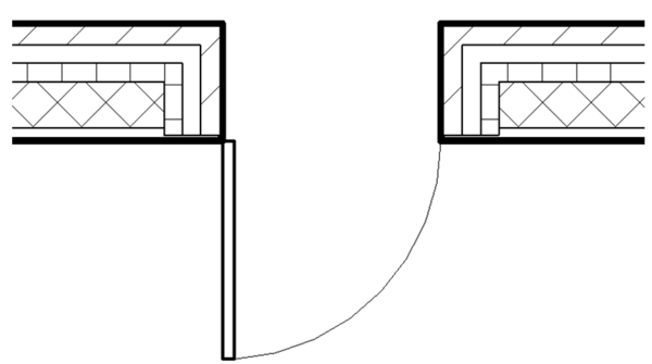Revit Quiz: What Controls the Wall Wrapping Location at