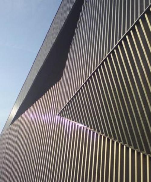 Metal cladding2