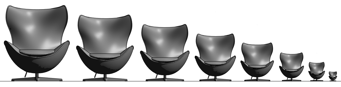 swing chair revit family barrel chairs ikea class 34 s m l xl how to scale a swat egg scale3 scale4