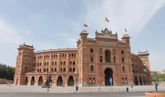 LAS VENTAS BULLRING in Salamanca district in Madrid (Spain). Built in 1931.