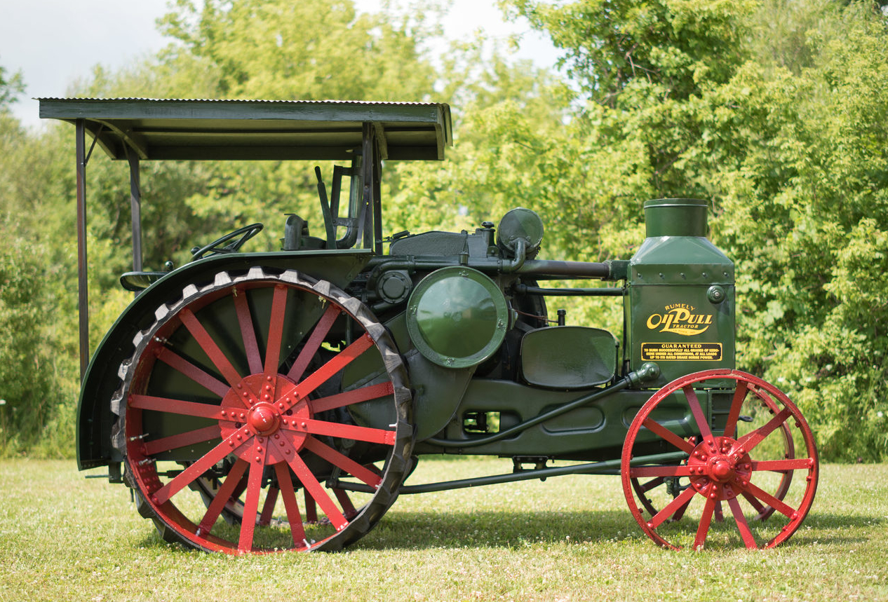 Rumely Oil Pull Engine