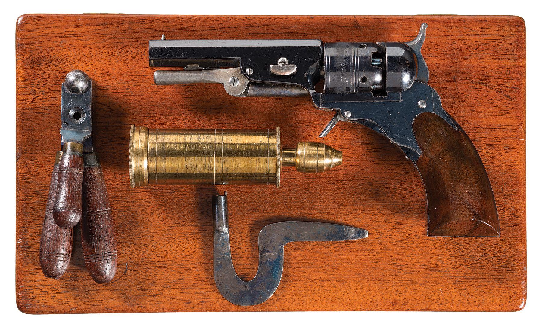 Cased Colt Ehlers Pocket Model Paterson Revolver