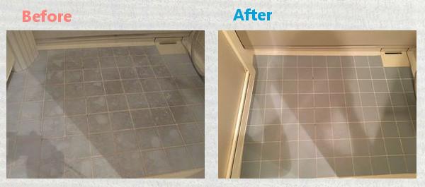 お風呂の床・お掃除