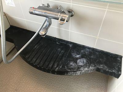 浴室カウンター