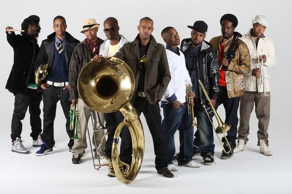 Hypnotic Brass Ensemble The Baddest Brass On The Planet