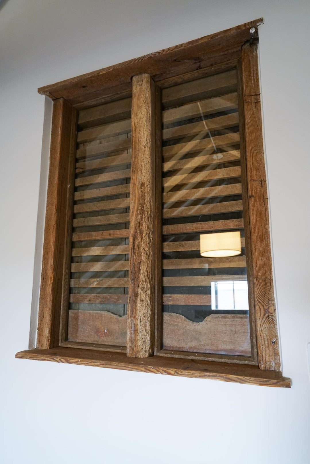 Carriage House Original Shutters Saved