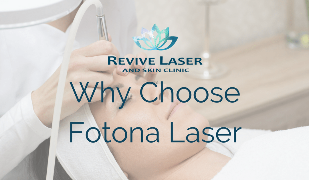 Why Choose The Fotona Laser?