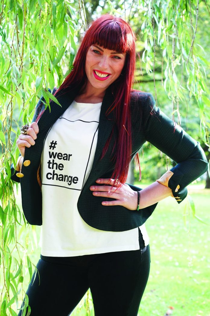 Gemma Gratton Founder of The Beethrive Sustainable Fashion Brand