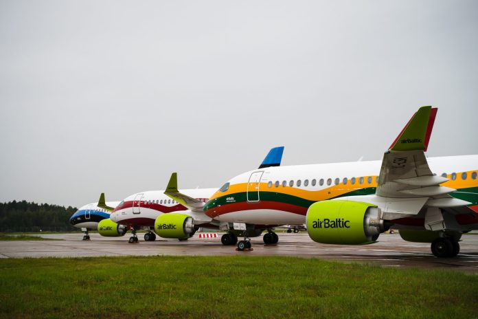 AirBaltic planes
