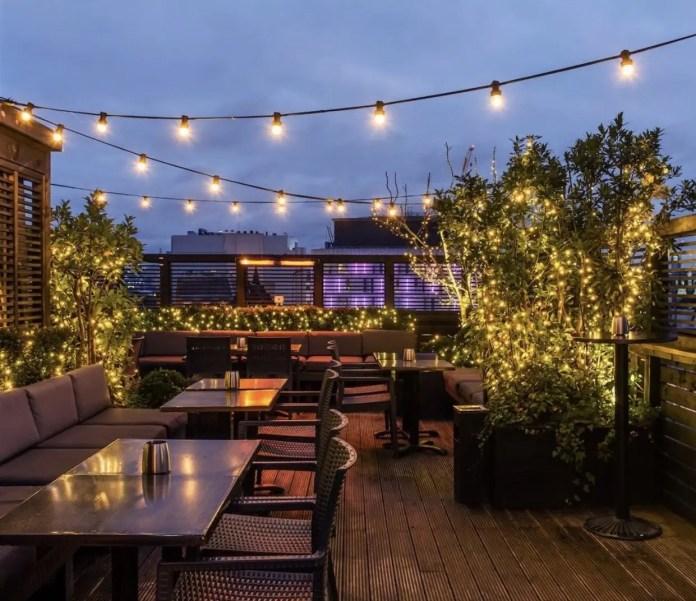 Century Club roof terrace