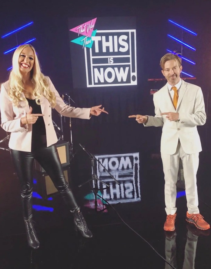 Hayley and Limahl