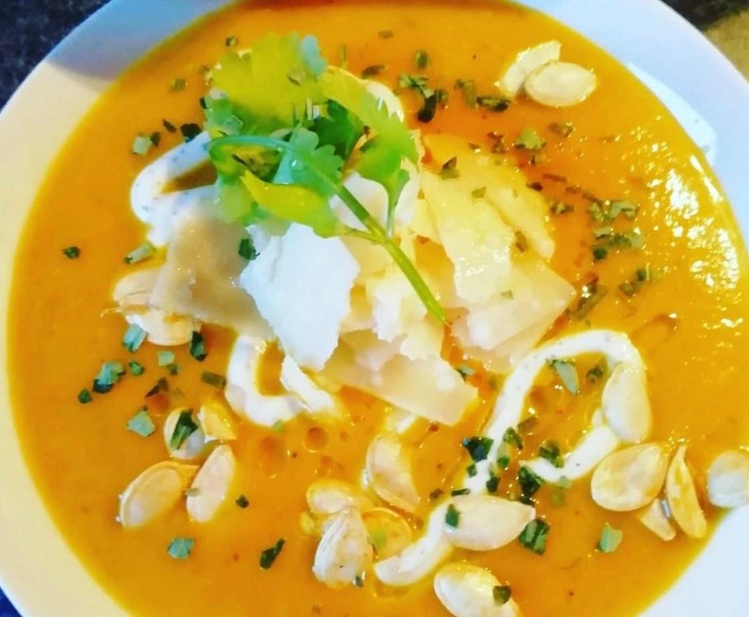 Spiced Pumpkin Soup by Paul Watters