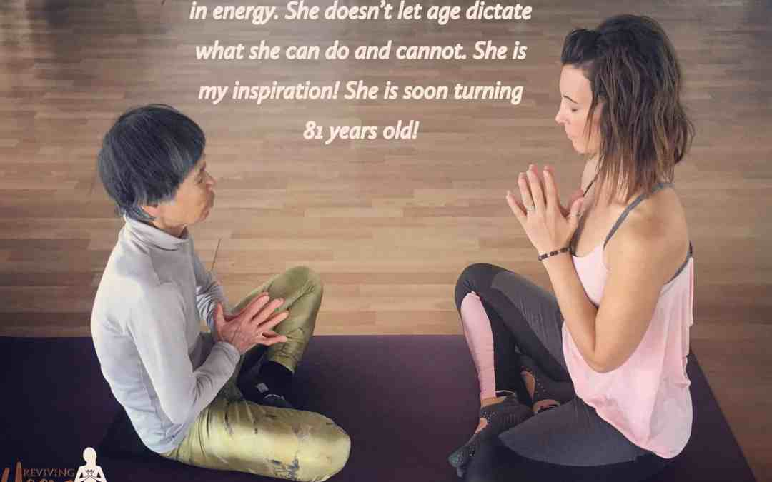 There is no age to yoga