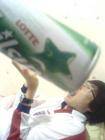 Korean boys drink bigger