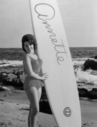 Annette at the beach
