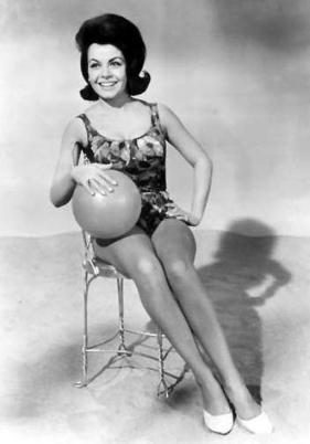 Annette Funicello beachball