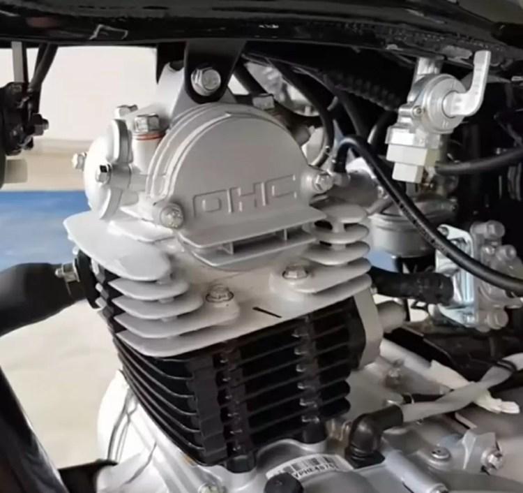 Bajaj CT 100B, 100cc single cylinder engine