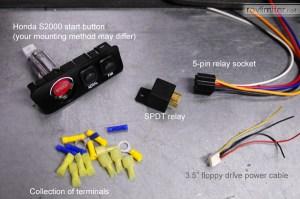 revlimiter  S2000 Starter Button (9805 Version)