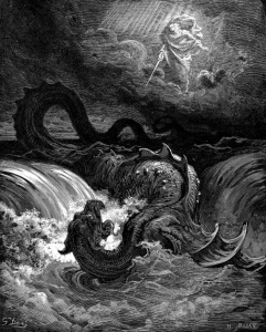 The Destruction of Leviathan by Gustave Doré (1865) is available on wikipedia
