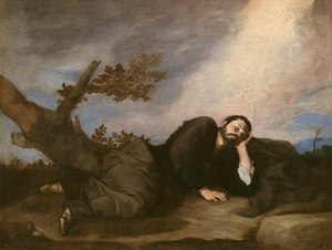 Jacob's Dream (1639) by José de Ribera, at the Museo del Prado, Madrid available from wikipedia