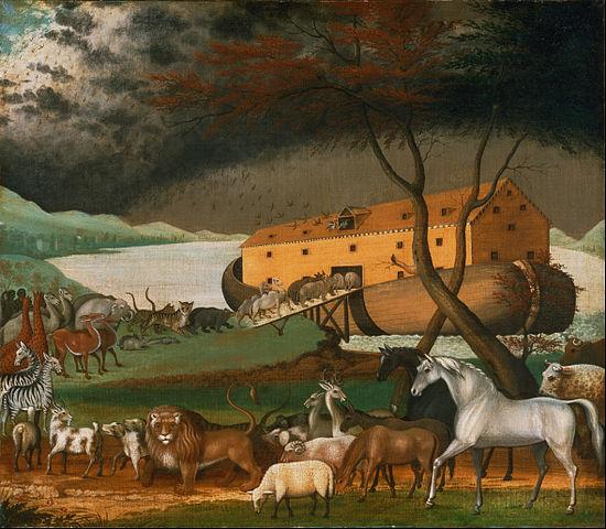 Edward Hicks' painting of Noah's Ark