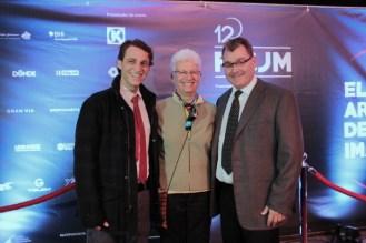 Isidoro Hamui, Dra. Ródica Radián Grodon, y Mark Liwerant.