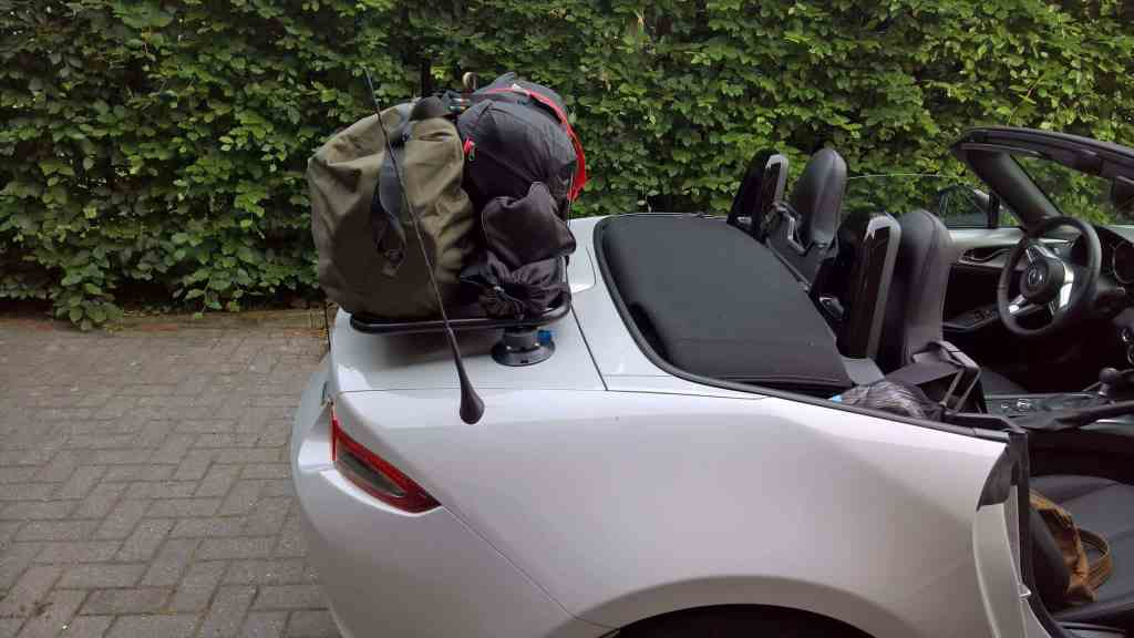 Mazda Mx5 Mk4 Luggage Rack Revolutionary Design No Clamps