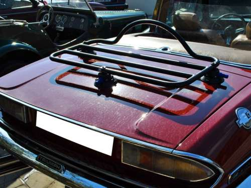 Triumph stag luggage rack