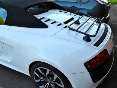 audi luggage rack on r8 spider convertible