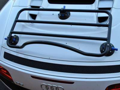 audi r8 spyder luggage rack