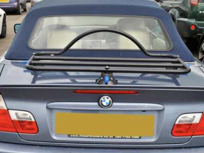 bmw e46 3 series convertible luggage rack no clamps to damage paint. Black Bedroom Furniture Sets. Home Design Ideas