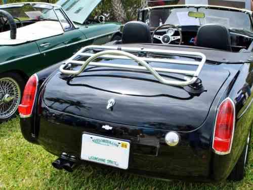 revo-rack mgb trunk luggage rack stainless steel