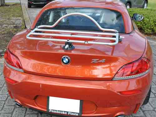bmw z4 e89 stainless steel luggage rack