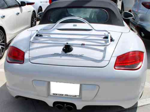 porsche boxster 987 stainless steel luggage rack