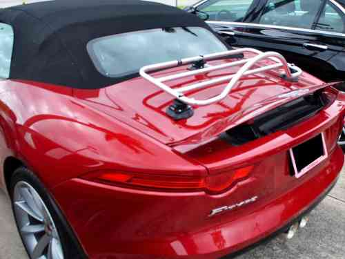jaguar f type chrome trunk rack