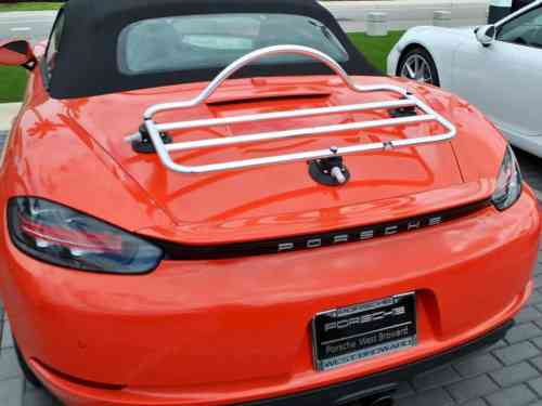 porsche boxster 986 stainless steel luggage rack