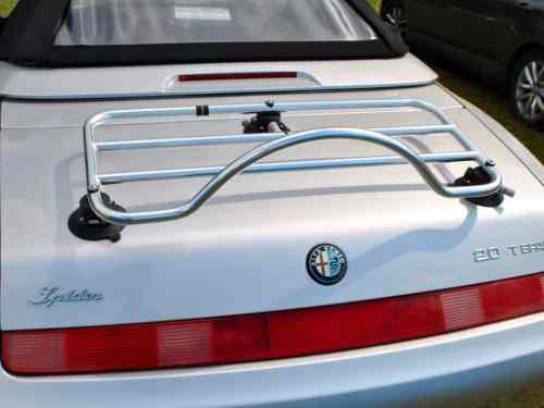 alfa romeo spider 916 luggage rack