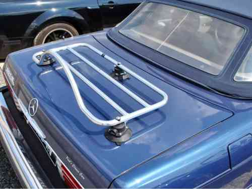 mercedes benz slk r171 stainless steel luggage rack