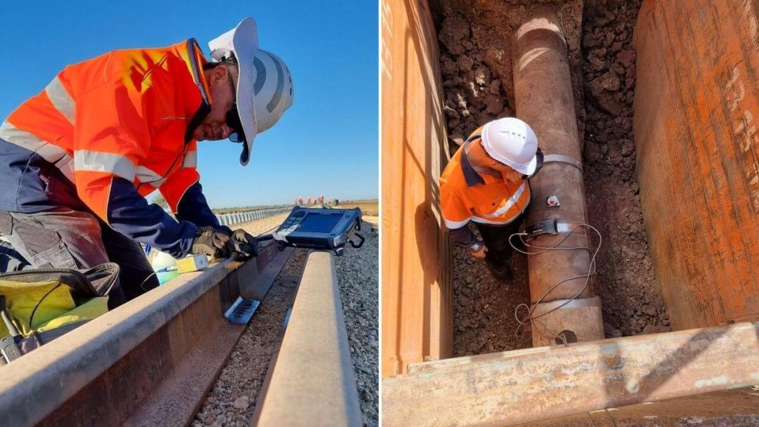 Rail & Pipe Metal Inspection
