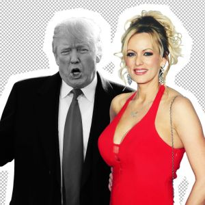 Stormy Steps Out on Donald