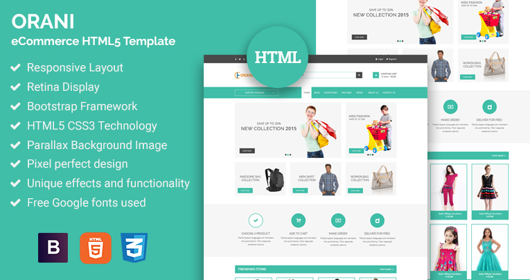 html5 ecommerce website templates free download - Vatoz ...