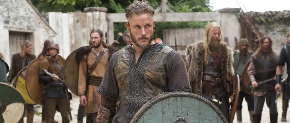 Ragnar og hans vikinger. Photo credit: Jonathan Hession/ historychannel.com