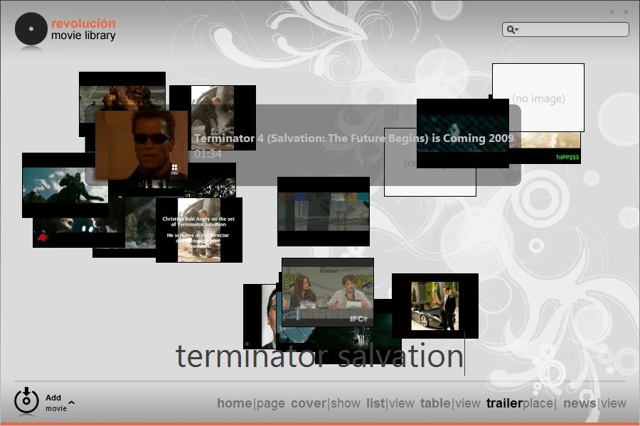 Revolucion Library - Trailer View