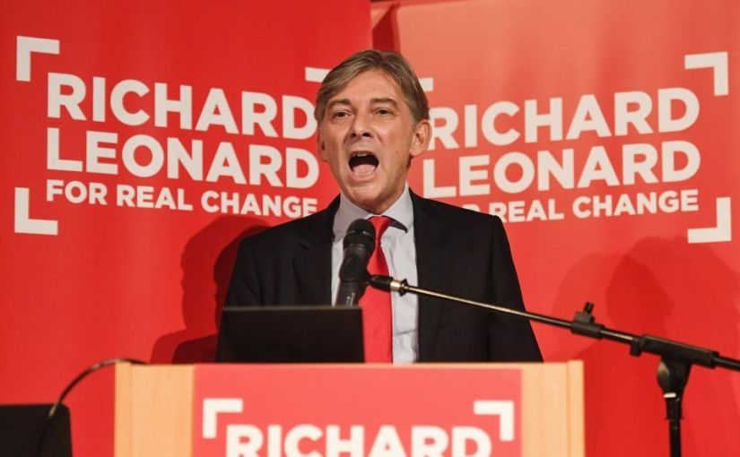 Labour right-wing forces Richard Leonard out
