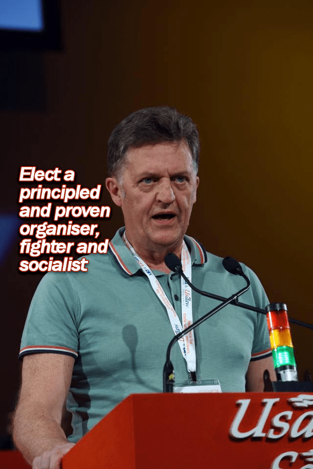 Shop, Distributive and Allied Workers Need a Socialist Leadership: Vote Richie Venton for USDAW NEC