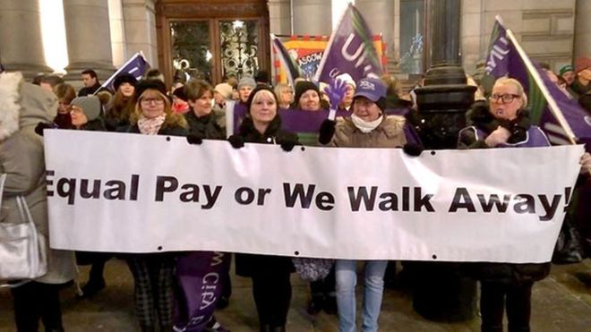 Women Workers to Strike for Equal Pay