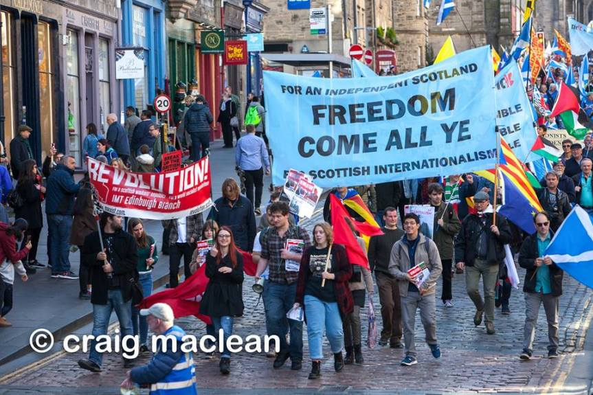 Why Marxists support Scottish Independence