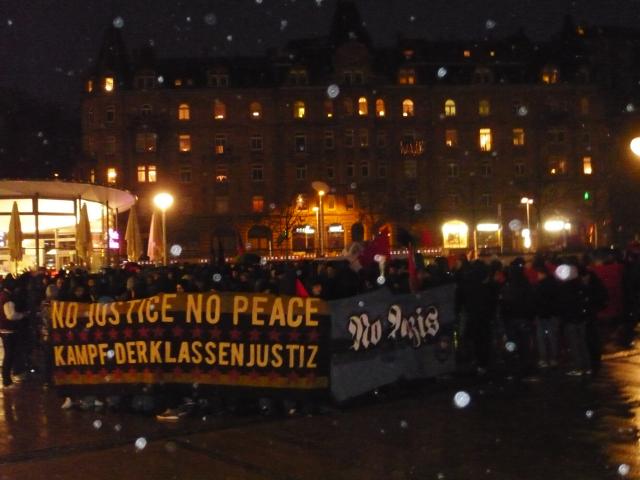 Bericht zur Silvesterdemonstration 2011