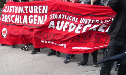 Bilder der Demo gegen faschistischen Terror am 13.04.2013